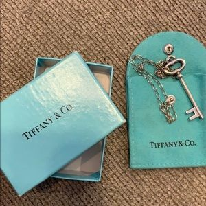 Tiffany and co 16 inch necklace